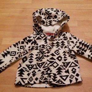 Baby girls Aztec fleece size 24 months